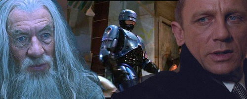 What if RoboCop, the Hobbit and James Bond were all one movie?