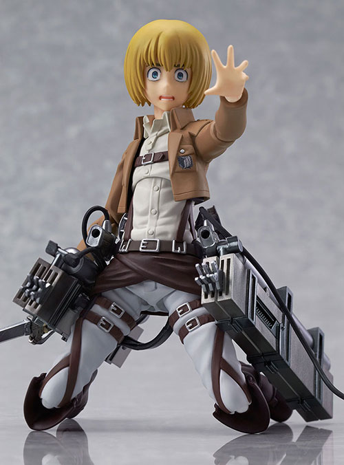 Attack On Titan Figures Aren't Safe For Giant Mouths