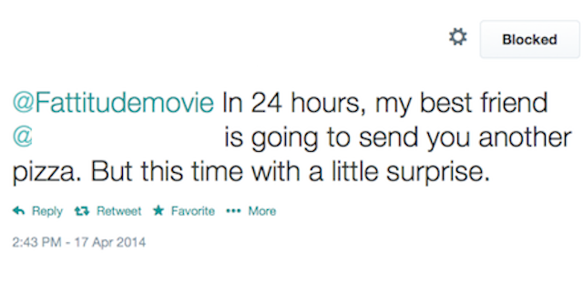 I'm Being Stalked and Terrorized Because of My Fat-Acceptance Movie