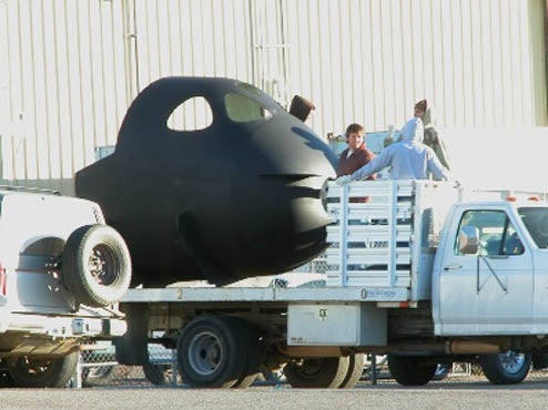 SpaceShipTwo Spied, May Turn Out to Be A Private Space Turtle