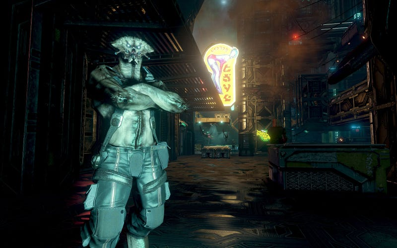 Prey 2 Steeps in 'Alien Noir' Visuals and Red Dead Redemption Gameplay