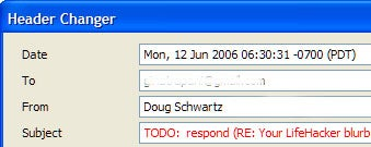 Download of the Day: Edit subject lines in Thunderbird