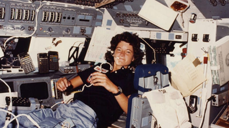 R.I.P. Sally Ride, an astronaut who changed the future