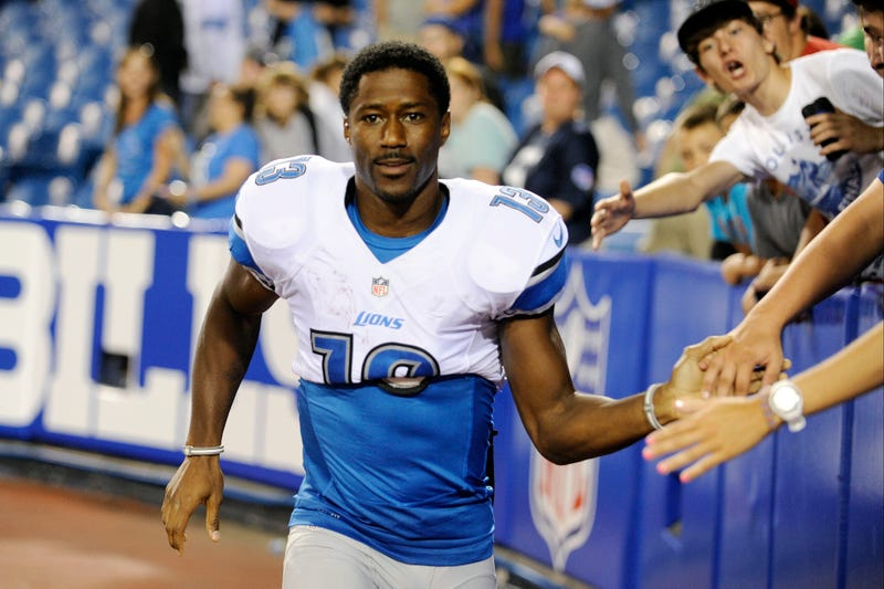 Lions' Nate Burleson Crashed A Yukon, Broke Arm Trying To Save Pizza