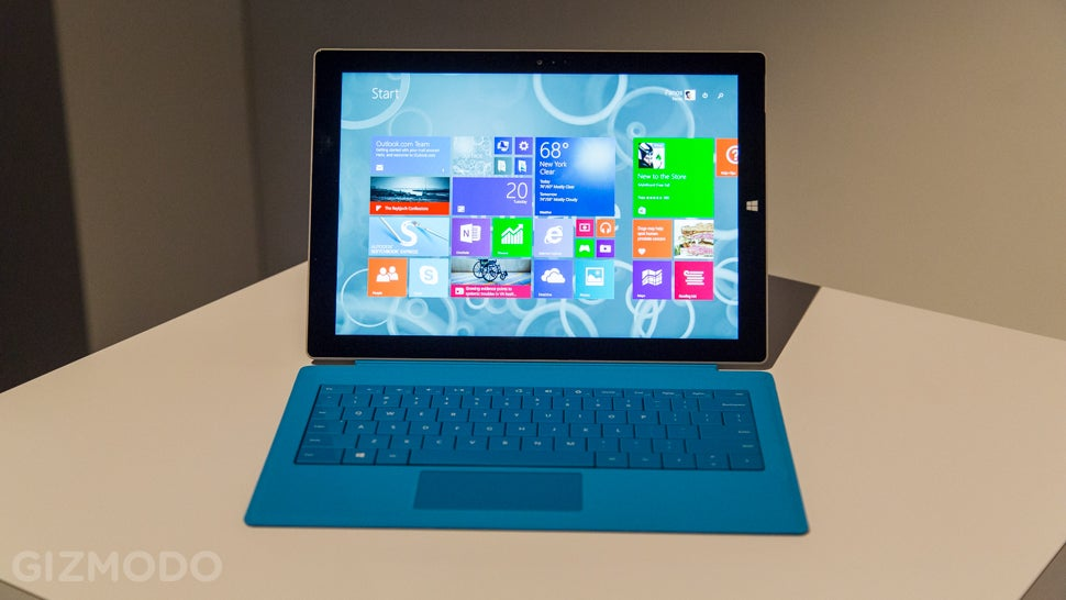 Surface Pro 3 Hands On: A Laptop Replacement That Just Might Work