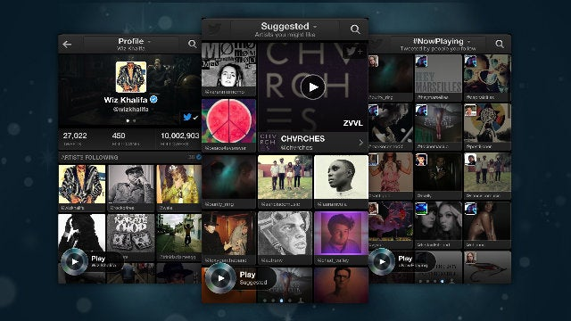 Twitter #Music Recommends New Music with iTunes, Spotify, and Rdio