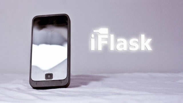 You Can Actually Buy a Flask That Looks Like an iPhone