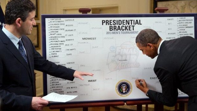 Why Are Obama's Brackets So Boring?