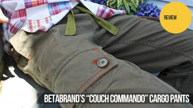 Two Weeks and One E3 in Betabrand Couch Commando Cargo Pants