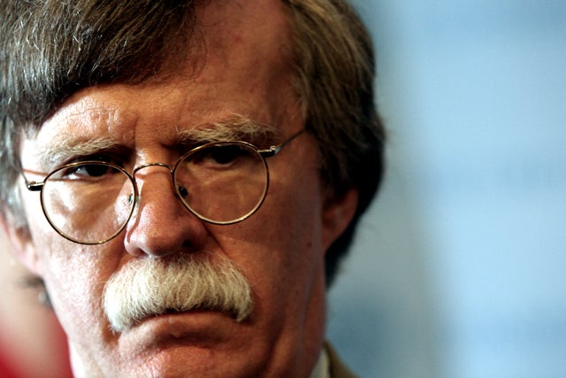 A Perpetually Angry John Bolton Might Run for President