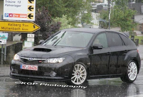 Subaru WRX STI Spec C Spotted Testing In Germany