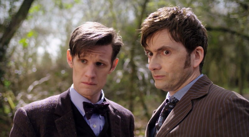 A closer look at the first trailer for The Day of The Doctor