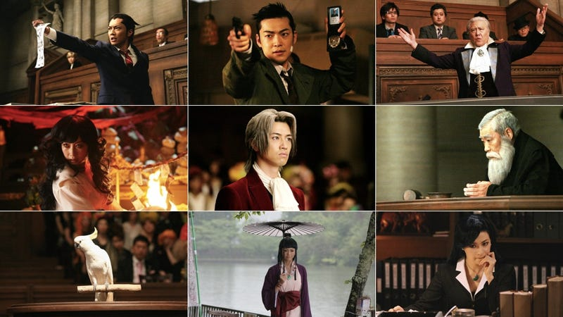 Do You Object to Any of These Phoenix Wright Actors?