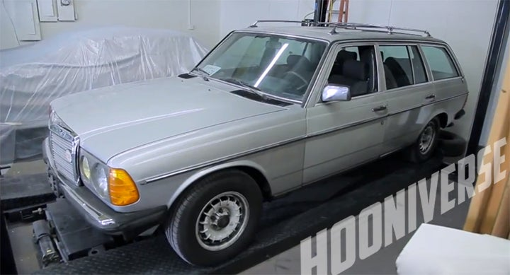 Project Wombat: Say hello to our Benz Wagon
