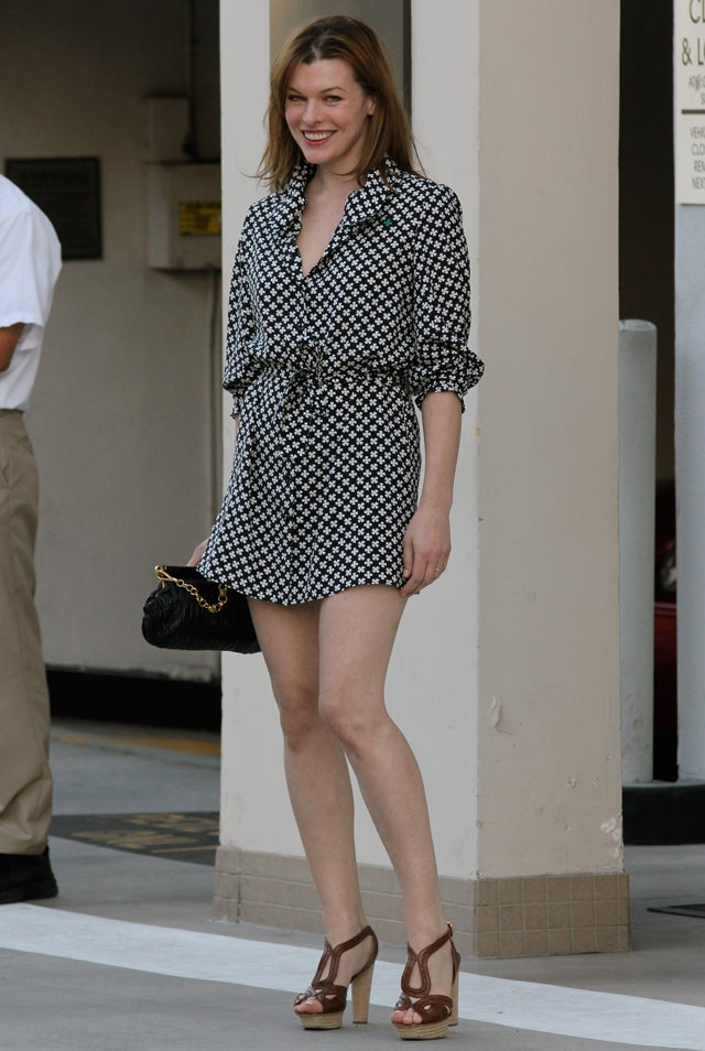 Patterns & Platforms For Milla Jovovich