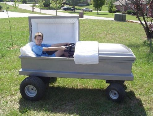 The Coffin Kart, For Your Budding Little Undertaker