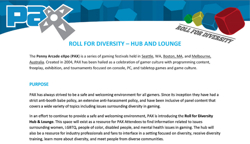 Penny Arcade 'Rolls for Diversity' With Segregated Lounges