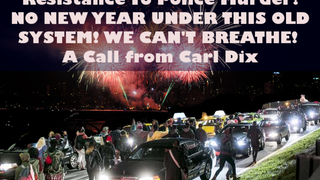 Who's up for a protest on NYE?