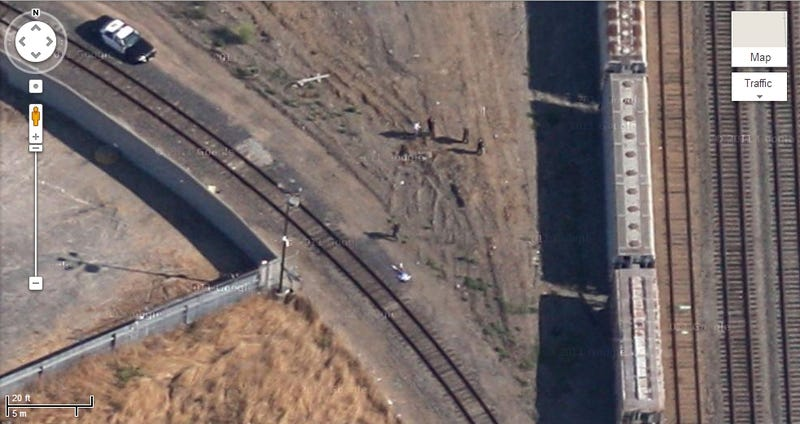 Dad Says Body of Murdered Son Appears in Google Maps Photo