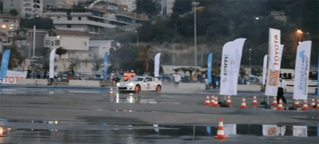 Watch This Toyota Set A World Record With An 89.55-Mile Drift