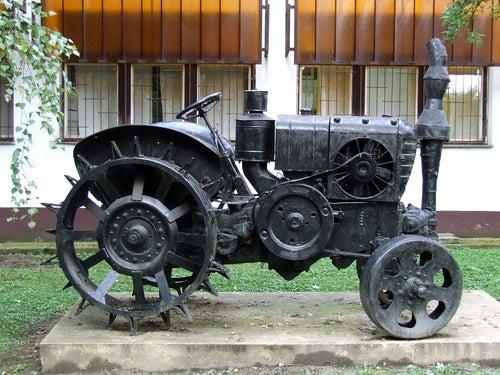 The Spike-Wheeled Tractor of Doom