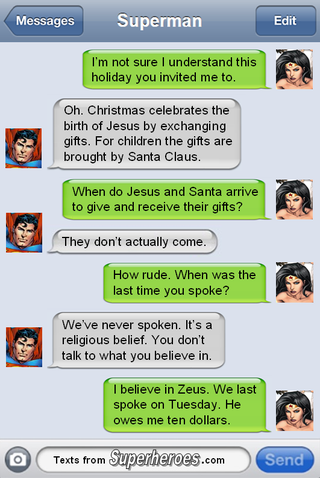 Why Wonder Woman Has Trouble Understanding Mortal Holidays