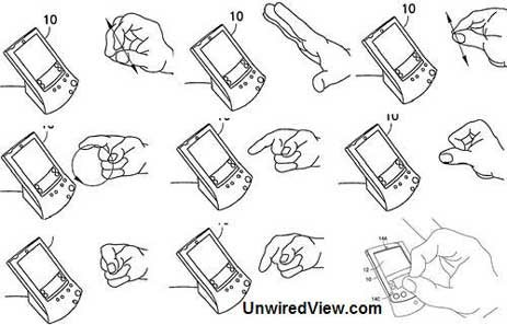 Nokia Patents S60 Touchless Gesture UI