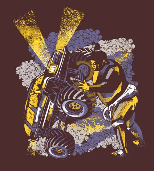 Best Sumo Wrestler/Monster Truck T-Shirt Ever