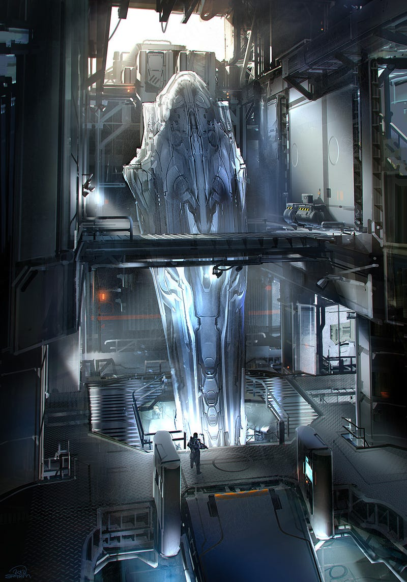 Halo 4 Was Shaped, At Least In Part, By One Of The World's Great Concept Artists