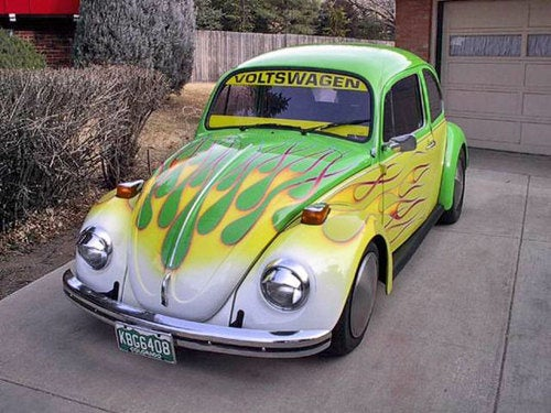 The Five Best Custom Green Cars