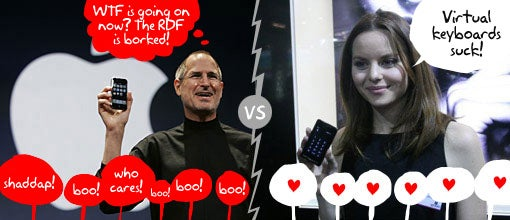 Laura Ocaña Spells iPhone's Doom, Prefers Prada Boots to LG Prada