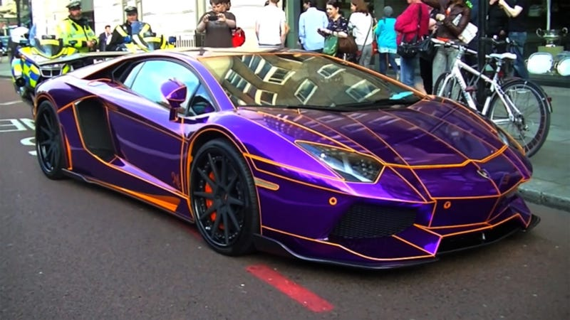 What Should The UK Do With Their Doomed $380,000 Lambo?