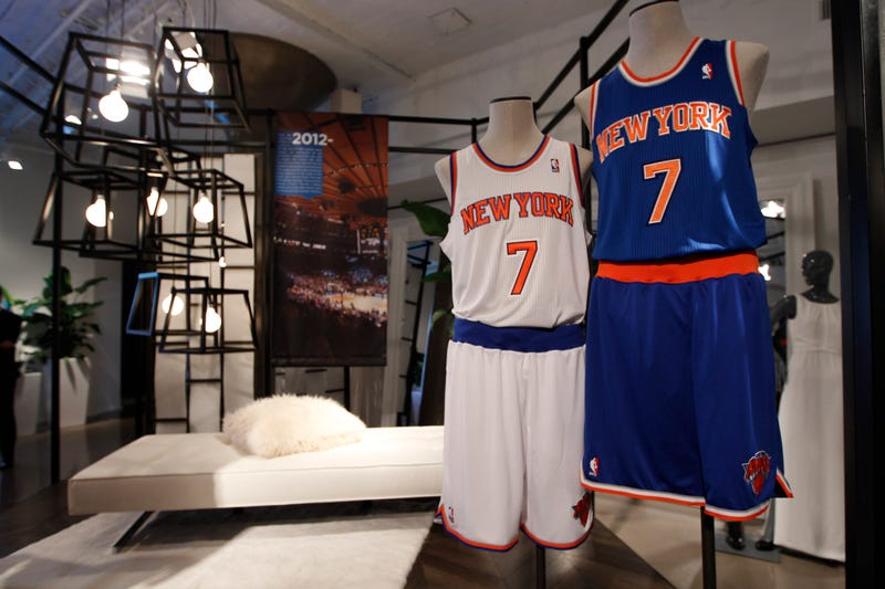 The Knicks' New Uniforms Contain A Hidden Threat