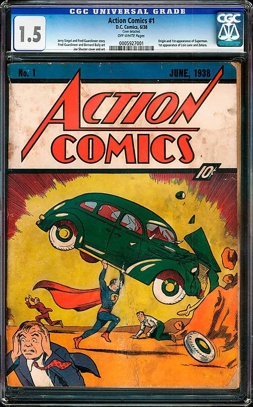 Man Finds Most Valuable Comic Book of All Time Hidden Inside His House