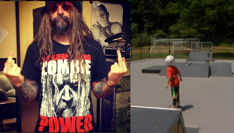 Rob Zombie Wants Noisy Skate Park Kids Off His Lawn