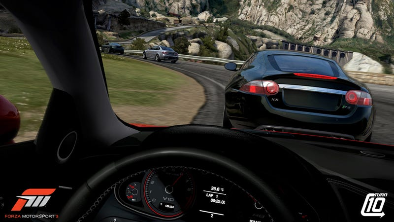 Forza Motorsport 3 Screens Zoom Into View