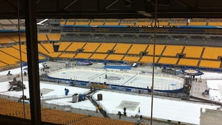 NHL Winter Classic Report: HOCKEY!