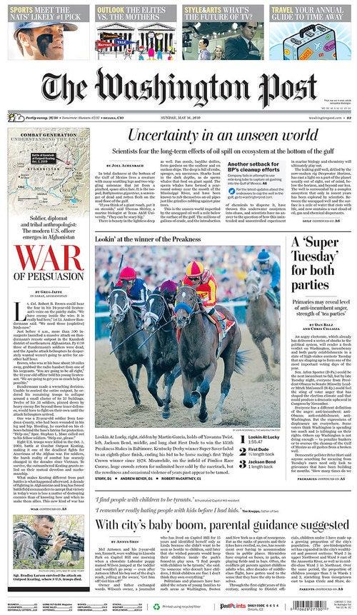 The Washington Post Argues That it is Fine, OK?