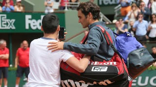 Roger Federer Does Not Want To Take A Goddamn Selfie