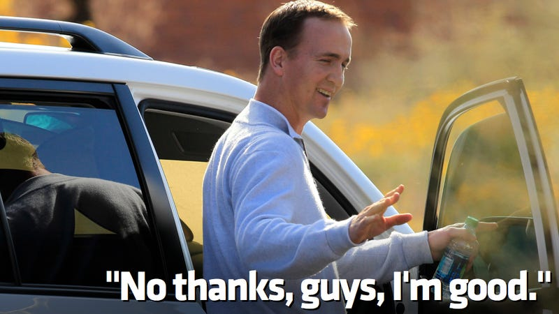 Read Nissan's Poorly Timed Letter To Peyton Manning