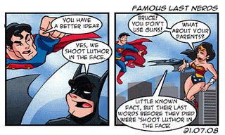 10 Batman Webcomic Parodies (Occasionally) Better Than the Real Thing