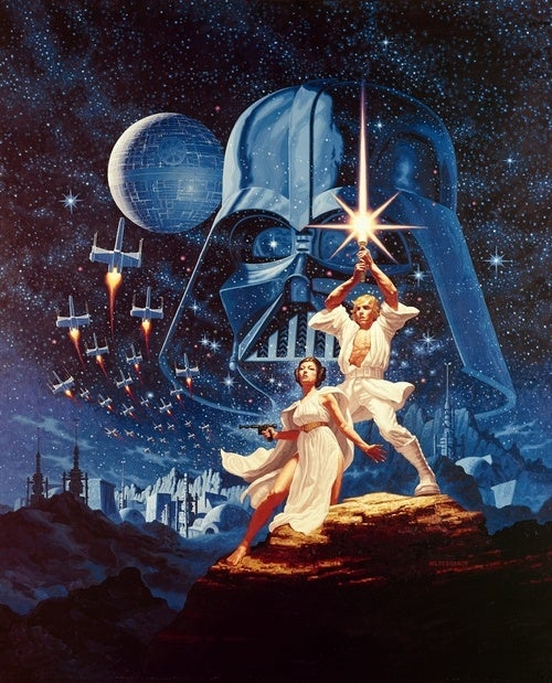 The first Star Wars art you ever fell in love with