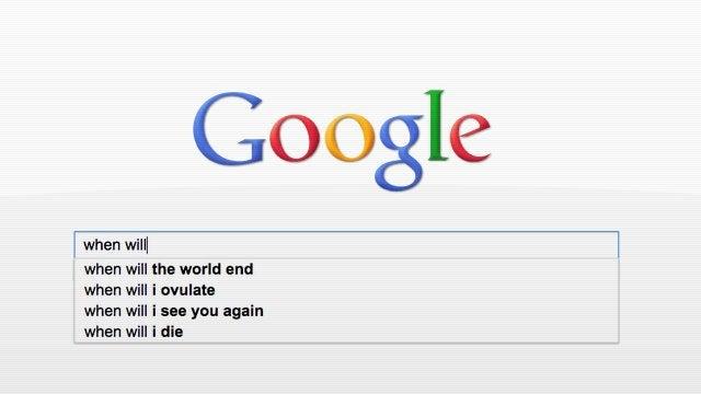 Google Autocomplete Makes Wonderful Emo Poetry