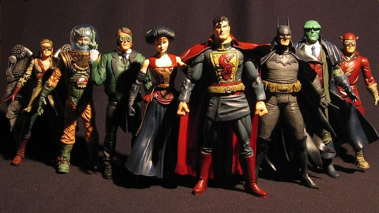 The Justice League Of America Goes Steampunk