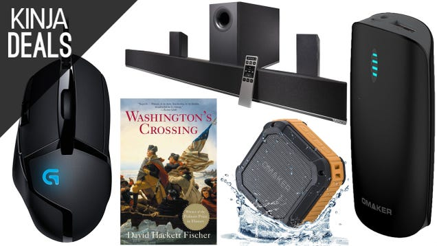Saturday's Best Deals: 5.1 Surround For $165, American History, More