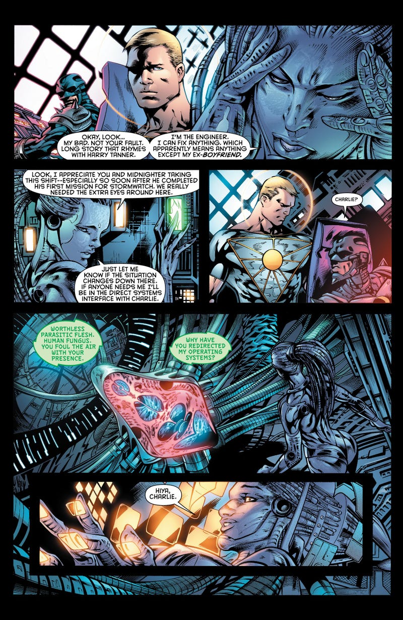 The Most Powerful Girl in the Universe Begs for a Puppy in This Stormwatch #7 Preview