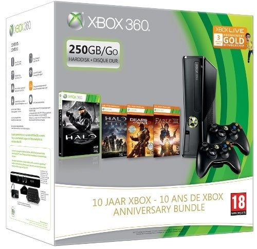 Amazon France Outs 10th Anniversary Xbox 360 Bundle with Three Digital Downloads
