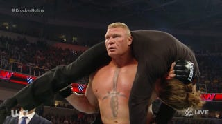 Brock Lesnar's <i>WWE Raw</i> Rampage, As Called By Wr