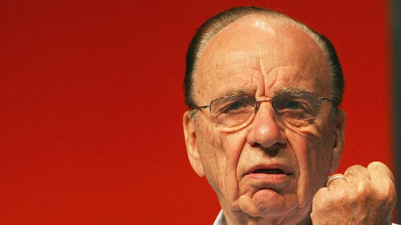 The Definitive Gallery of Rupert Murdoch Looking Evil