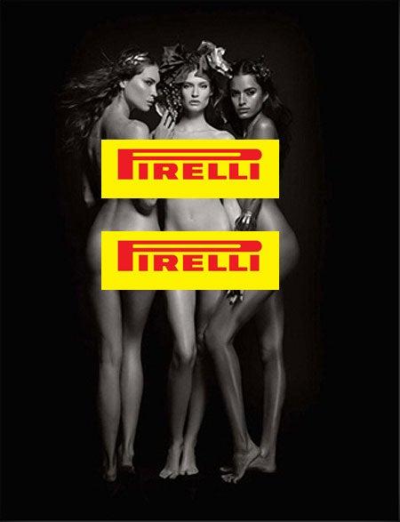 2011 Pirelli Calendar: Karl Lagerfeld's Naked Gods, Goddesses Sell Tires